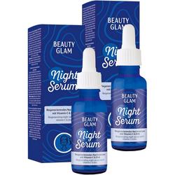 BEAUTY GLAM Gesichtspflege-Set Night Serum, 2-tlg.
