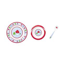 Spiegelburg Kindergeschirr-Set BabyGlück: Mein erstes Geschirr, hellblau