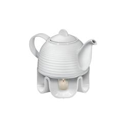 Cilio Teekanne Kanne mit Rechaud, 1.1 l, Teekanne