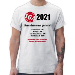 Shirtracer T-Shirt Bauchladen war gestern! 2021 - JGA Junggesellenabschied Männer - Herren Premium T-Shirt XXL