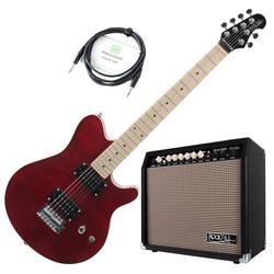 Rocktile Pro MM150-TR E-Gitarre Verstärker Set