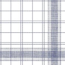 """Mank Airlaid Linclass Servietten Structure """"NADEEM"""", 48 x 48 cm, 1/4 Falz, 70 g, 1 Karton = 6 x 50 Stück = 300 Servietten, blau"""