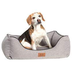 alsa-brand Hundekorb Koje grau, Außenmaße: ca. 80 x 62 cm