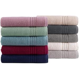 Natura Walk Zero-Twist Sun: Gästetücher, Handtücher und Duschtücher, einzeln oder im Set- Grösse 2 x Gästetuch, 2 x Handtuch, ein Duschtuch, Farbe (280) bordeaux