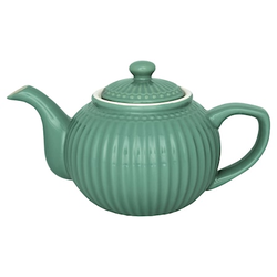 Greengate Alice Teekanne Dusty Green