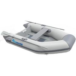 VIAMARE Schlauchboot 190 Slat grau Wasserspielzeug Outdoor-Spielzeug