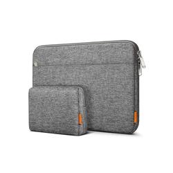 Inateck Laptop-Hülle 14 Zoll Laptoptasche für 14 Zoll Laptops, 15 Zoll MacBook Pro 2016-2019 grau