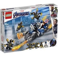 Lego Marvel Super Heroes Captain America Outrider-Attacke (76123)