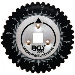 BGS 3070 Drehwinkelscheibe Messcheibe für Drehwinkel 0 - 360°
