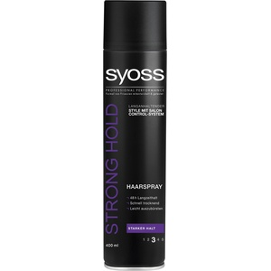 Syoss Haarspray Strong Hold, 3er Pack (3 x 400 ml)
