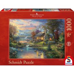 Schmidt Spiele Puzzle Im Naturparadies, 1000 Puzzleteile, Made in Germany