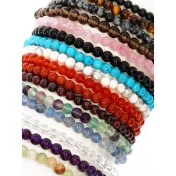 Adelia´s Armband Schneeflockenobsidian Armband - Schneeflocke - 19 cm