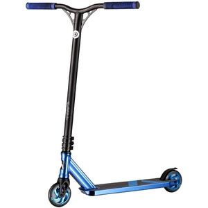 Albott Pro Scooter Stunt Scooter Freestyle Tretroller Stunt Roller mit ABEC9 Lager und 110mm ALU Kern Rollen Professional Stuntscooter Alu HIC Kompression ab 8 Jahre (Blau)