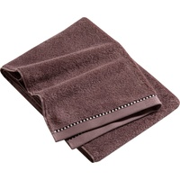 Handtuch (2x50x100 cm) dusty mauve