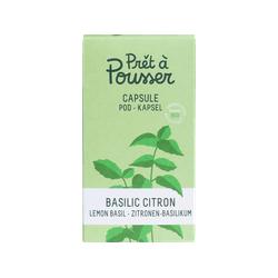 PRET A POUSSER 150317 Zitronenbasilikum Pflanzenkapsel Mehrfarbig