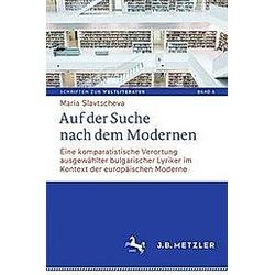Auf der Suche nach dem Modernen. Maria Slavtscheva  - Buch