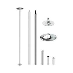 Barre de Pole Dance, Statique et Rotative, Diamètre 45 mm X Pole Dance Fitness, pour Sport Exercice