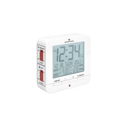 Marathon Wecker 4-Alarm Medizin Wecker CL030075 weiss
