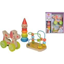 Eichhorn Lernspielzeug Lernspielset bunt Kinder Holzspielzeug