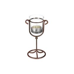 relaxdays Kerzenhalter Kerzenhalter 7.5 cm x 16.5 cm x 9 cm