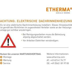 Etherma Warnaufkleber AKD