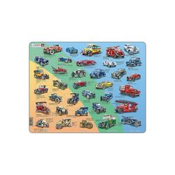 Larsen Puzzle Rahmen-Puzzle, 42 Teile, 36x28 cm, Historische, Puzzleteile