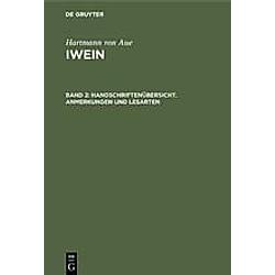 Hartmann von Aue: Iwein: Band 2 Iwein. Hartmann von Aue  - Buch