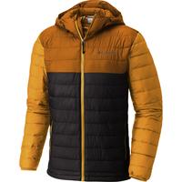 Columbia Powder Lite Hooded orange-grau XXL