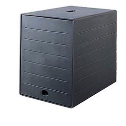 DURABLE Schubladenbox IDEALBOX PLUS schwarz DIN C4 mit 7 Schubladen