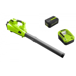 Zipper Akku Handbläser mit Akku und Ladegerät ZI-LBR40V-Akku