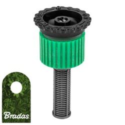 Sprühdüse für Pop-Up Sprinkler Versenkregner Einstellbare Düse 0-360° Bewässerungsflache 4m Bradas 5168