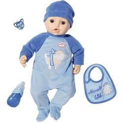 Baby Annabell Babypuppe Alexander, 43 cm, interaktiv mit Schlafaugen