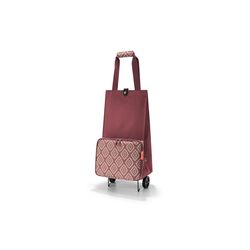 REISENTHEL® Einkaufstrolley Einkaufstrolley faltbar foldabletrolley, 30 l rot