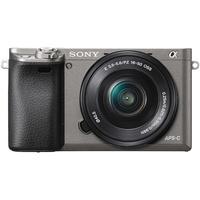 Sony Alpha 6000 grau + 16-50 mm PZ OSS