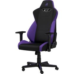 NITRO CONCEPTS Gaming-Stuhl S300 Gaming Chair, Bürostuhlzertifizierung DIN EN 1335 lila
