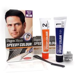 Bigen Men's Speedy Colour Natural Black 101 Haarfarbe für Männer natürlich Schwarz
