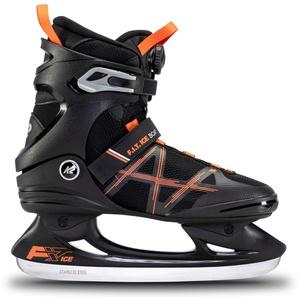 K2 Skates Herren Schlittschuhe FIT Ice Boa, Black/Orange, UK: 10.5