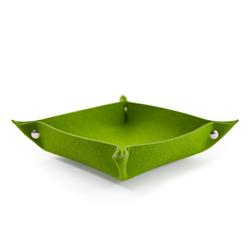 Filzschale DIY Dekoschale als Schlüsselablage Geld Ablage - grün