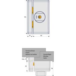 ABUS Bohrschablone FTS96 / FTS106