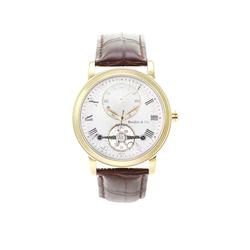 Boudier&Cie Exklusive Armbanduhr für Herren mit offener Unruh