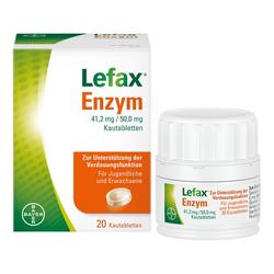 Lefax® Enzym zur Unterstützung der körpereigenen Verdauung 20 St