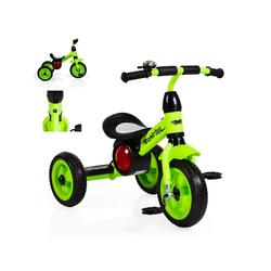 Moni Dreirad Dreirad Bonfire, mit EVA-Reifen, Trittbrett, Musik, Licht, Fahrradklingel grün