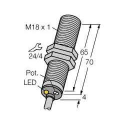 Turck Sensor kapazitiv BC5-M18-AP4X