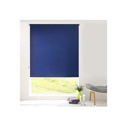 Rollo Sichtschutzrollo Sun, Kubus blau 60 cm x 150 cm