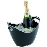 APS Champagnerschale schwarz klein