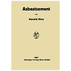 Asbestzement. Harald Klos  - Buch