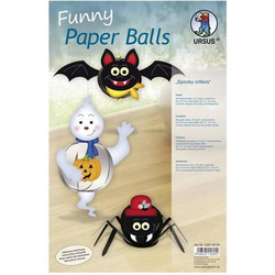 Funny Paper Balls 'Spooky critters'