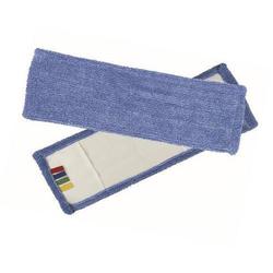 Wischmop Microfaser blau mit Farbcodierung 50 cm