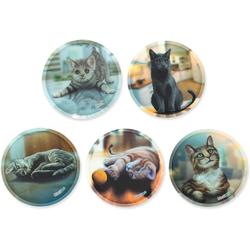 ergobag Schulranzen Klettie-Set 5er Katzen