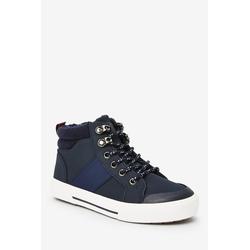 Next Warmgefütterte Wanderstiefel zum Schnüren Stiefel blau 38